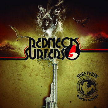 SURFFERIN´ LP 2012 cover art