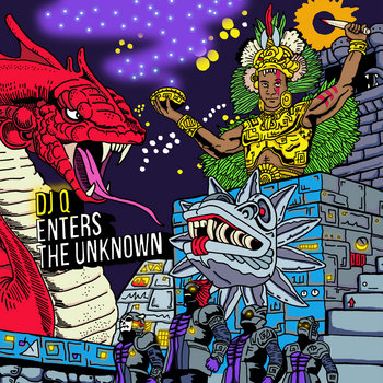 DJ Q Enters The Unknown MIX CD!! cover art