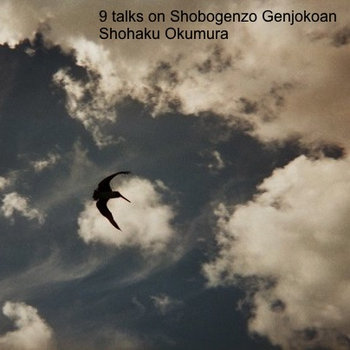 9 talks on Shobogenzo Genjokoan cover art