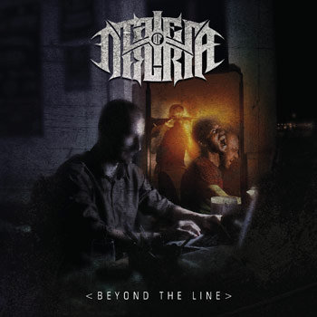"TALES OF DELIRIA ""Beyond The Line"" cover art"