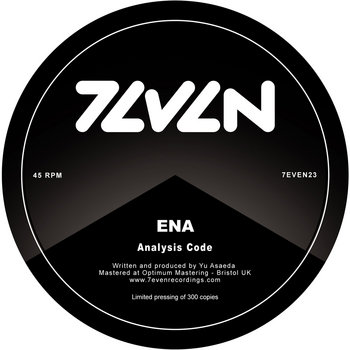 ENA - Analysis Code / Splinter cover art