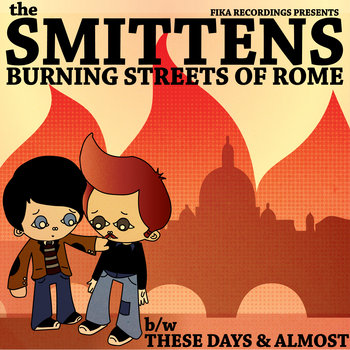 Burning Streets Of Rome cover art