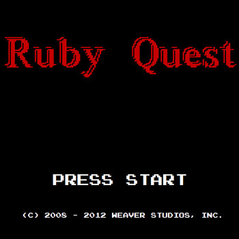 Ruby Quest: Press Start cover art