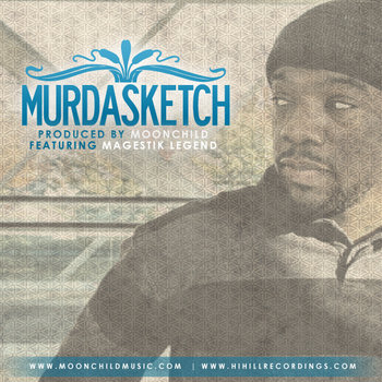 **Single** Murda Sketch featuring Magestik Legend (2011) cover art