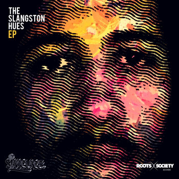 The sLangston Hues EP cover art