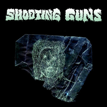 "Shooting Guns/Cult of Dom Keller Split 7"" cover art"