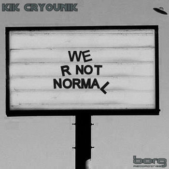 We R not normal cover art