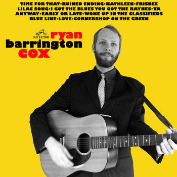 Ryan Barrington Cox cover art