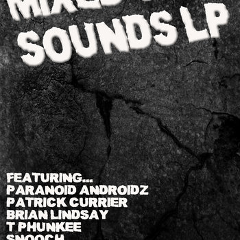 Mixed up sounds compilation cover art