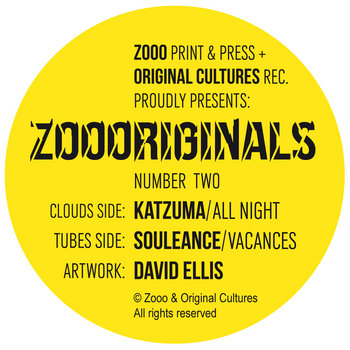 "Zoooriginals #2 (7"") cover art"