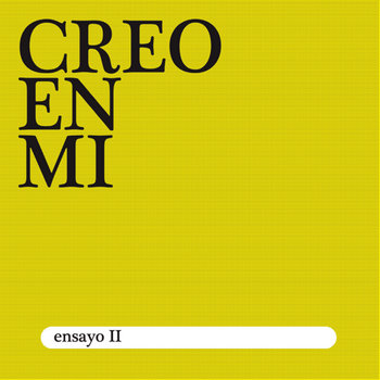 Ensayo II cover art