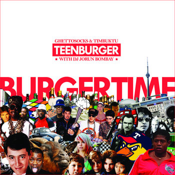 Burgertime cover art