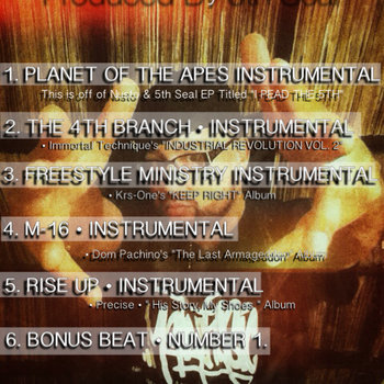 Instrumental EP Volume #1 cover art