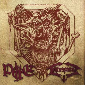 Entrapment/Pyre Split 12&quot; cover art