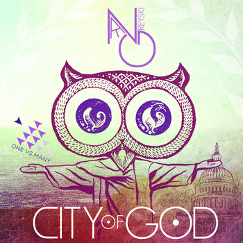 "Nate Greyski - ""City of God"" cover art"