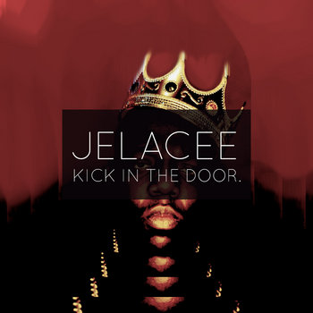 kick in the door. cover art