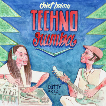 Techno Rumba E.P. cover art