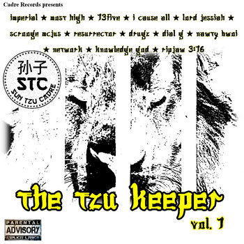 The Tzu Keeper Vol. 1 cover art