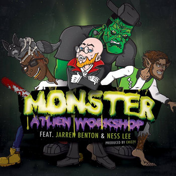 Monster featuring Jarren Benton & Ness Lee cover art
