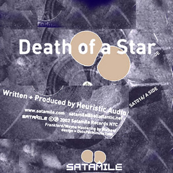 Death of a Star- Vinyl and Digital!! cover art