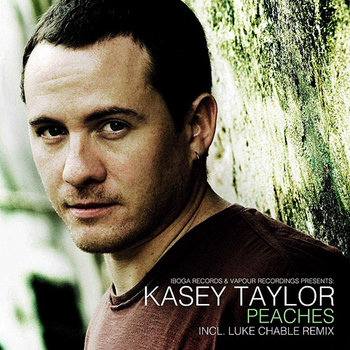 KASEY TAYLOR - Peaches EP (Iboga Records) cover art
