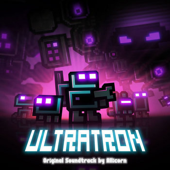 Ultratron OST cover art