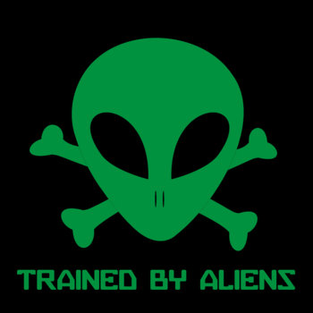 Trained By Aliens EP cover art