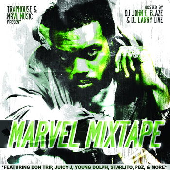 Traphouse & Marvel Music Presents: Marvel Mixtape Dub Edition cover art