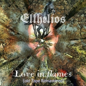 Love in flames  (1993 first cassete tape remastered in 2012) cover art