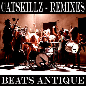 Cat Skillz REMIXES cover art