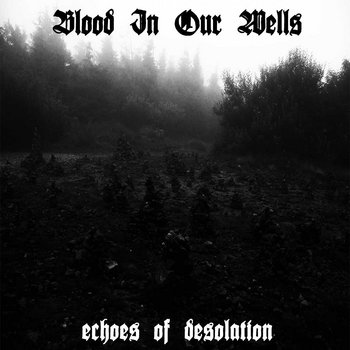 BLOOD IN OUR WELLS - Echoes Of Desolution  LP