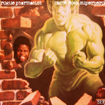 indie rock superhero cover art