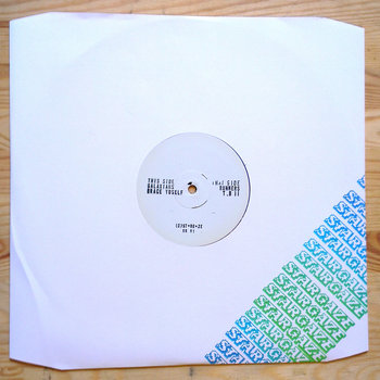 "GALAXIANS / RUNNERS Ltd. Split 12"" (SOLD OUT) cover art"