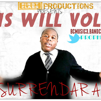 &quot;HIS WILL&quot; VOL 2 cover art