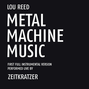 "Lou Reed ""Metal Machine Music"" cover art"