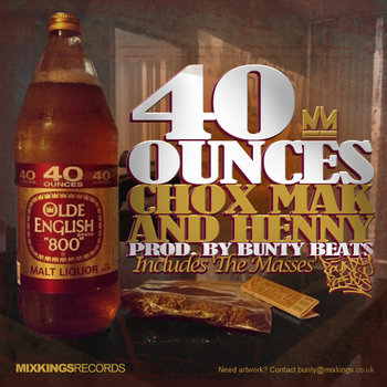 40 Ounces [Prod. Bunty Beats] cover art