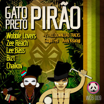 Pirão FREE Remixes EP cover art