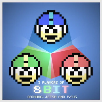 3 Flavors of 8bit cover art