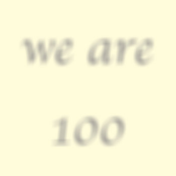 we are 100 cover art