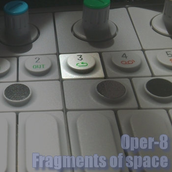 Fragments of space cover art