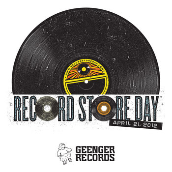 Record Store Day 2012 Compilation cover art