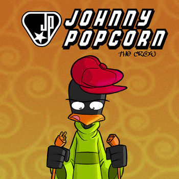 JOHNNY POPCORN the crow cover art