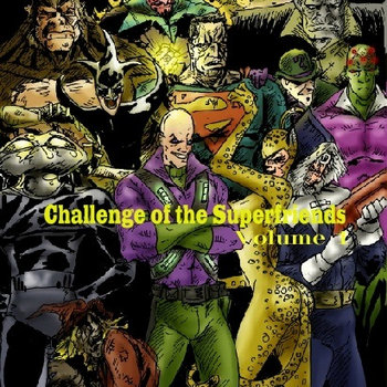 Challenge of the Superfriends vol.1 The Legion of Doom cover art