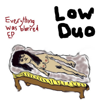 Everything Was Blurred EP cover art