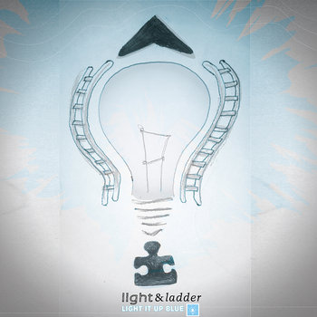 Light It Up Blue EP cover art