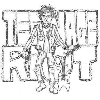 Teenage Riot (Vol. 1) cover art