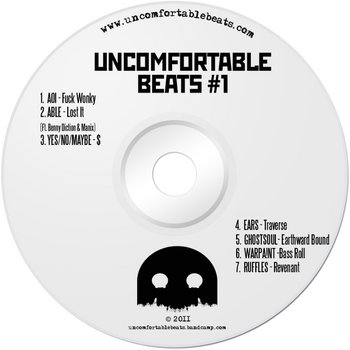 Uncomfortable Beats #1 cover art