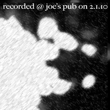 elderflower @ joe's pub cover art