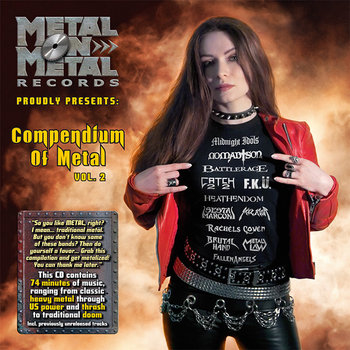 VV.AA. &quot;Compendium Of Metal Vol. 2&quot; cover art