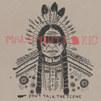 Don't talk the scene - 7inch cover art